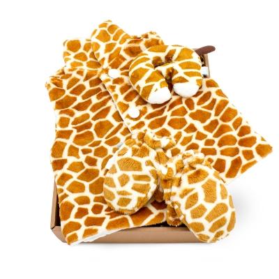【hipopipo小西波彌月首選】長頸鹿背心禮盒(B款)